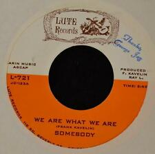 HEAR IT SOUL ROCK Somebody Lute 721 Not the Same and We Are What We Are