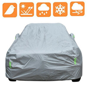 Large Waterproof Full Car Cover For SUV In Out Door Dust Rain Snow UV Resistant