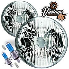 "Morris Minor Crystal Wipac 7"" Sealed Beam Halogen Conversion Headlight Kit"