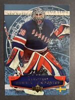 2007-08 Upper Deck MVP New World Order # NW12 Henrik Lundqvist New York Rangers