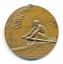 KAYAK - CANOE - ROWING - 1930 FIRST DANUBE COUNTRIES CHAMPIONSHIP  - rare medal