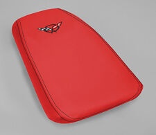 New Leather Console Cushion Arm Rest Lid Cover (1997-2004 C5 Corvette) Torch Red