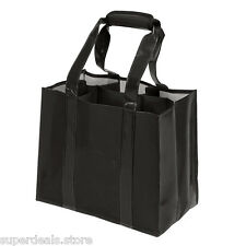 6 bottle Wine Carrier Laminated Non-woven Tote - AP1560