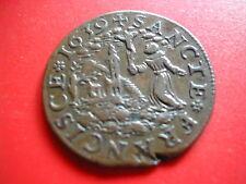 AMN.NECESSITE PARIS RARE MEREAU AU ST FRANCOIS COUVENT RECOLLETS 1639 (OU LYON?)