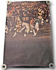 Extremely Rare Original 1968 Bill Brown Sports Illustrated Renselaar Poster