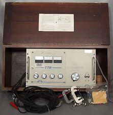 AVO-Biddle/Megger 550027 TTR Transformer Turn Ratio Test Set 550022