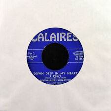 """Revivalaiers Quartette - He Know Just What I Need 7"""" Very Rare Gospel Calaires"""