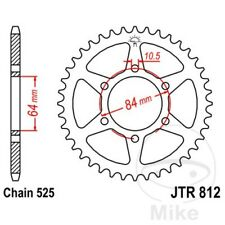 JT Rear Sprocket 41T 525P JTR812.41 Steel Suzuki GT 250 1973