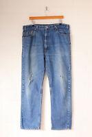 Vintage Levis 505 Straight Leg Jeans Mid Blue (W40 L32)