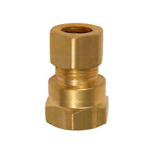Highcraft Compression x Female Adapter Pipe Fitting; Lead Free Brass