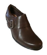Clarks Women's Leather Genette Vista Booties,  Brown , 7M US