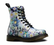Floral 100% Leather Upper Boots for Women