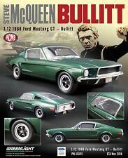 Pre Order 1:12 1968 Ford Mustang GT - Bullitt ! ETA Dec2018 _Order by 5 Aug