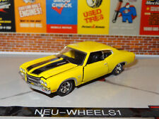1970 Chevy Chevelle Ss 396 Cowl Induction 1/64 Scale Diecast Replica Diorama A