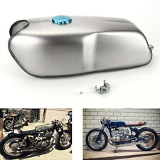 9L / 2.4 Gallon Universal Custom Cafe Racer Gas Fuel Tank for Honda BMW Yamaha