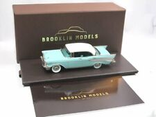 Brooklin Models BRK 221 1957 Chevrolet Bel Air 4-Door Hardtop blue/ivory 1/43