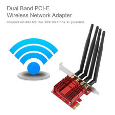 WiFi Adapter PCI-E Network Adapter Card 802.11AC Dual Band AC1900 LINK / ACT