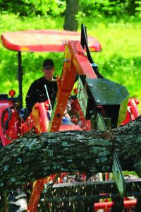 "The LimbSaw Company hydraulic 20"" chainsaw LS8; Tree branch limb saw"