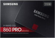 "HARD DISK  STATO SOLIDO SSD Samsung 860 PRO 512GB SATA III 2,5"" MZ-76p512B/EU"