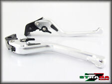 Strada 7 CNC Long Carbon Fiber Levers KTM 1190 Adventure / R 2013 - 2014 Silver
