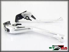 Strada 7 CNC Long Carbon Fiber Levers KTM 1190 Adventure / R 2013 - 2014 Silver