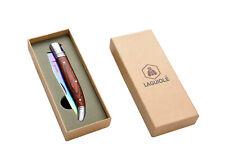 Coltello tascabile, coltellino manico lama titanio LAGUIOLE idea regalo cod 2091