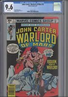 John Carter Warlord of Mars #3 CGC 9.6 1977 Edgar R Burroughs Marvel: New Frame