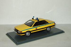 1:43 Neo Audi 100 C3 Police Militia USSR 1989 soviet russian limousine NEO44441