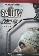 Saw IV 4 Movie 2008 Unrated Director's Cut DVD Horror Drama Costas Mandylor