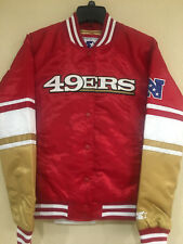 San Francisco 49ers Women Starter Satin Jacket - Victory Polyfill Jacket - NFL