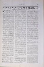 1903 Imprimé Bleu Marine & Armée Éditorial News Snippets