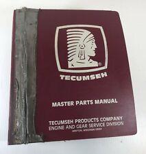 Tecumseh Master Parts Manual Vintage