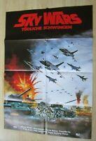 Filmplakat : Sky Wars Tödliche Schwingen ( Warren Brown , Anne Nielsen )
