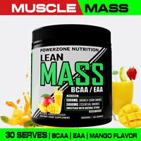 POWERZONE LEAN MASS // MUSCLE BUILDER 30 SERVE // BCAA // EAA