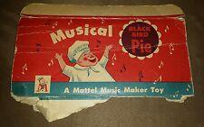 Vintage 1950's Mattel Blackbird Pie Music Maker Toy Box Part Only
