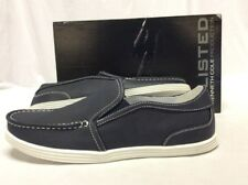 Kenneth Cole Unlisted Men's Boat Ancho Shoes, Navy, Size 10 M Eur 43 UK 9.5