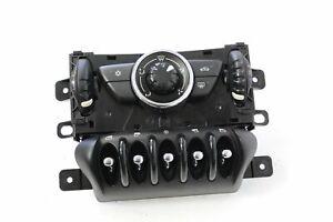 MINI COUNTRYMAN R60 D 2011 RHD Heater Climate Control Panel 9807982 11261170