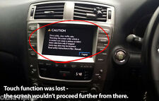 LEXUS IS250 GS300 450h LX470 ES350 GPS Touch Screen Repair / Replacement service