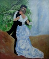 Quality Hand Painted Oil Painting Repro Renoir Dance in the City 20x24in