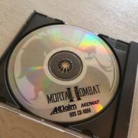 Mortal Kombat II PC CD-ROM Vintage Computer Fighting Game