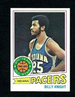 NMT 1977 Topps Basketball #110 Billy Knight.
