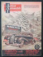 Revue ACTION AUTOMOBILE ET TOURISTIQUE janvier 1951 Monté-Carlo