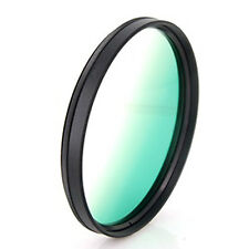 58mm graduated green screw mount filter for SLR DSLR Cameras Camcorders, New