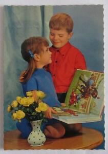 Cartolina d'epoca -  Bambini /  postcard - tarjeta -