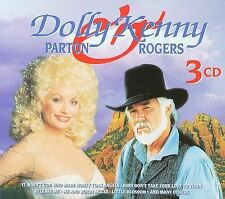 Dolly Parton and Kenny Rogers [Golden Stars] [Box] by Dolly Parton/Kenny Rogers (CD, Jan-2001, 3 Discs, Goldies)