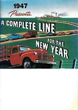 1947 47 Chevy Chevrolet Pickup Truck Sales Brochure