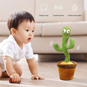 UK Cactus Plush Toy Electronic Shake Dancing toys with the song plush cute Dolls