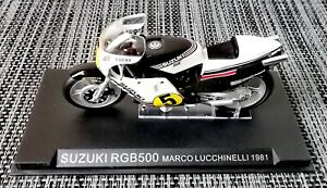 Ixo Altaya, SUZUKI RGB500 Marco Lucchinelli 1981, Motorrad Motorbike, 1:24, Moto