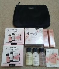 Philosophy Gift Sets BIG LOT Amazing Grace Shower Gel Emulsion EDT Perfume +BAG