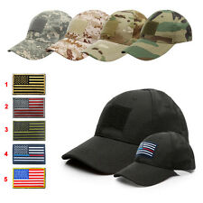 Special Forces Operator Tactical Baseball Hat Cap with American US Flag Patch